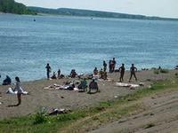В Сарапуле появился новый пляж