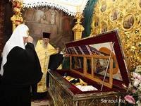 В Сарапул прибыли мощи Святителя Луки