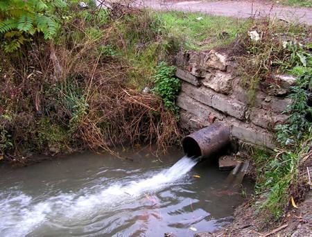 Сброс загрязняющих веществ в водоемы выявлен в Сарапульском районе