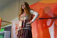 Коллекция современного удмуртского костюма получила «серебро» на международном к
