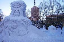 Новогодний ледовый городок откроется в Воткинске в конце месяца