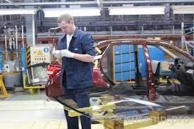 В Ижевске начали собирать автомобили по японской системе