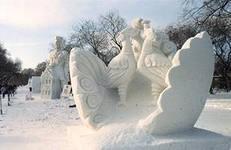 В Ижевске прошел конкурс снежных скульптур