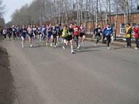 Почти 200 спортсменов приняли участие в пробеге ко Дню космонавтики в Глазове