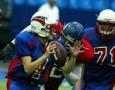 В Ижевске впервые прошел матч по американскому футболу
